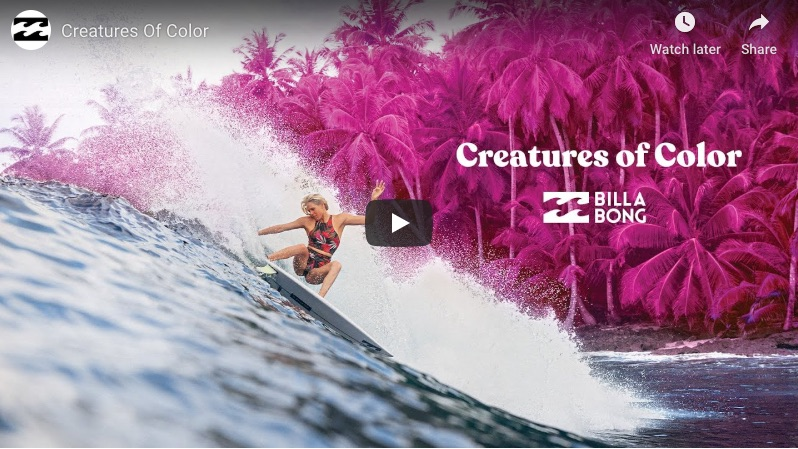 Creatures of Colors by Billabong Womens
