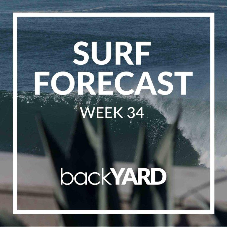 Ericeira Surf Forecast Week 34 2020
