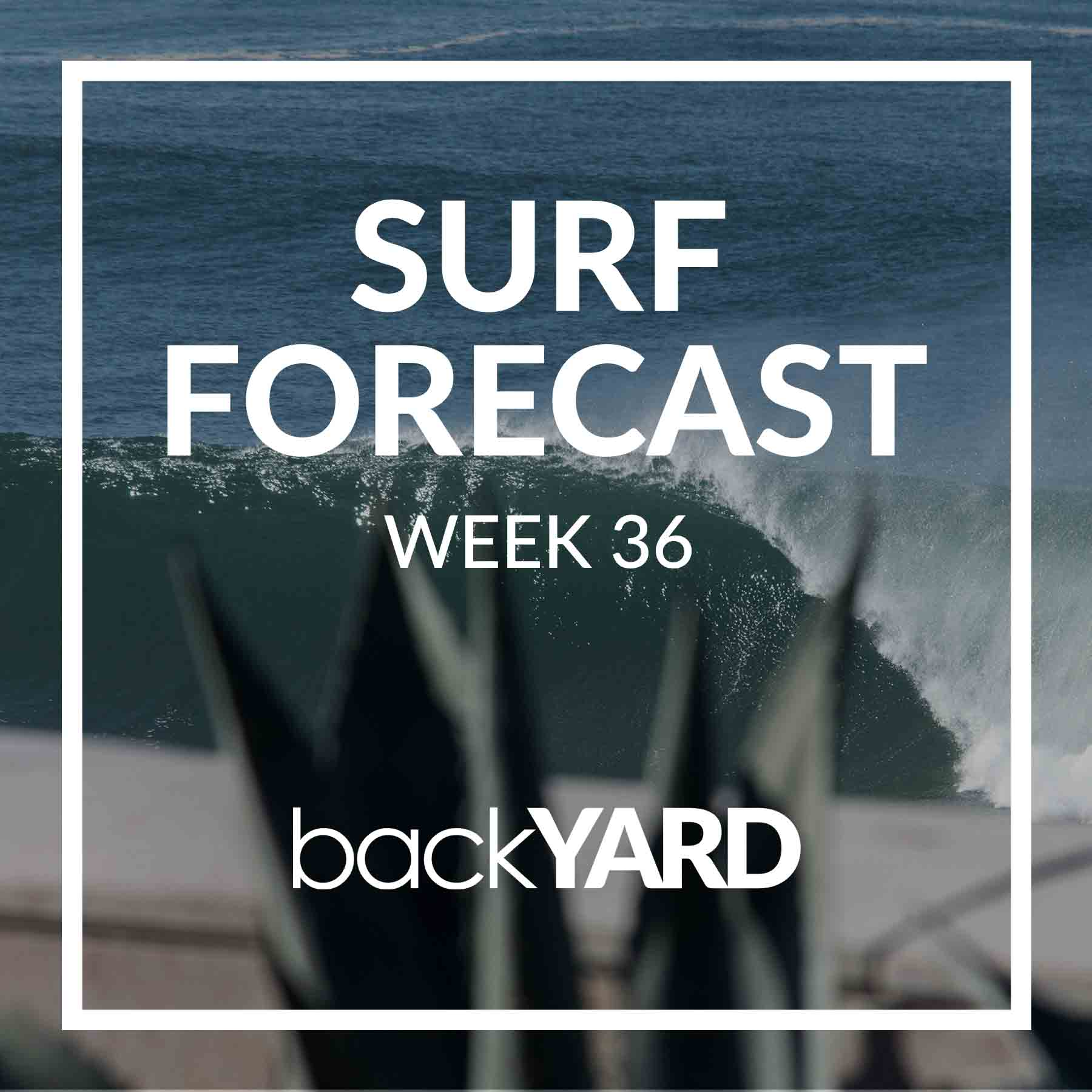 Ericeira Surf Forecast Week 36 2020